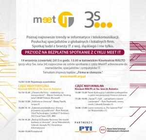 Zapraszamy na MeetIT vol. 6