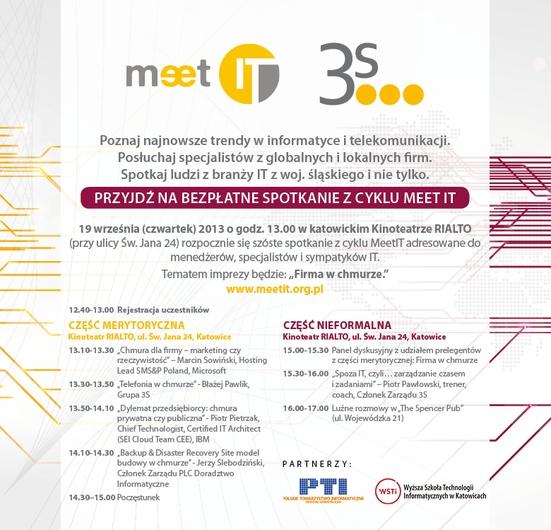 Agenda MeetIT vol. 6